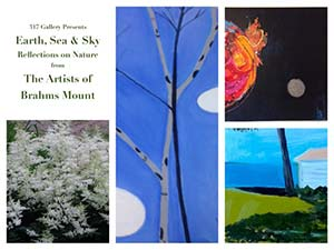Earth, Sea & Sky - Reflections on Nature, Art show and opening reception...